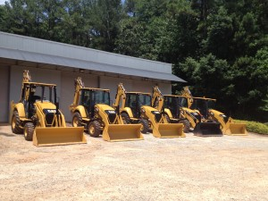 Additional loaders on site.